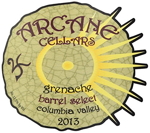 2013 Arcane Cellars Grenache, Columbia Valley 750 Ml