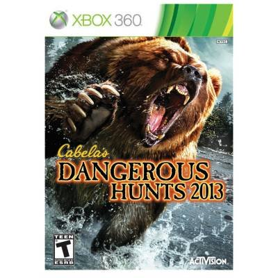 Activision Blizzard 76957 Cabelas Dangerous Hunts 2013 for Xbox360