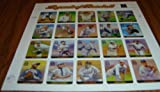 2000 LEGENDS OF BASEBALL #3408 Pane of 20 x 33 cents US Postage Stamps