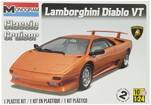 Revell Monogram Lamborghini Diablo VT (Lamborghini Model Car Kit compare prices)