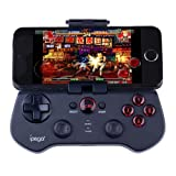 Ipega PG-9017S Wireless Bluetooth Game Controller for Android Mobile Phones and IOS iPhone iPad (Black)