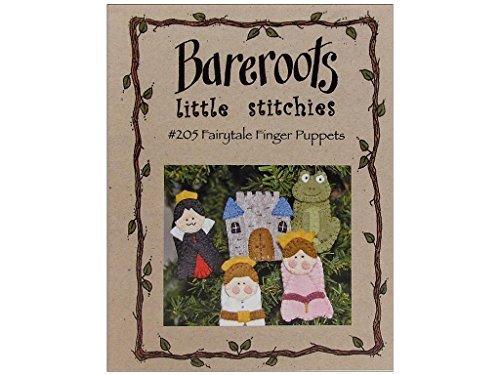 Bareroots Fairytale Finger Puppets Pattern #205