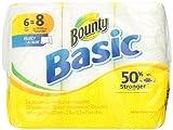 Basic Paper Towels 6 Select-A-Size Big Rolls