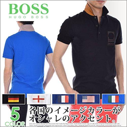 1d657e3a BOSS Orange Men's World Cup Soccer Country Polo Shirt, England, Medium  (Color: England, Tamaño: Medium)