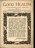 img - for Good Health Magazine Battle Creek Sanitarium January 1917 Edition Vol LII No. 1 book / textbook / text book