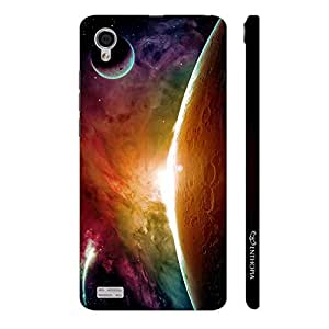 Enthopia Designer Hardshell Case Sun From The Moon Back Cover for Vivo Y31L