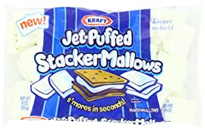 Jet Puffed Stacker Mallows, 8-Ounce (Pack of 8)