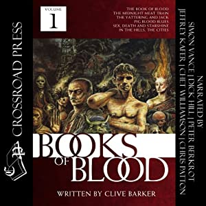 The Books of Blood, Volume 1 Audiobook