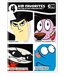 4 Kid Favorites Cartoon Network Hall of Fame 2