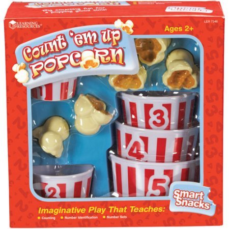Smart Snacks Count 'Em Up Popcorn by Learning Resources (Count Pop Corn compare prices)