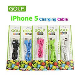 Golf USB Data Cable for iPhone 5/5s/5c