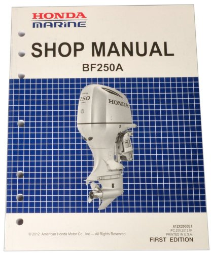honda bf250 marine outboard service shop repair manual thomas d rh sites google com Honda Repair Manual Riced Out Honda