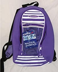 Speedo Nautical/Junior Backpack in Purple