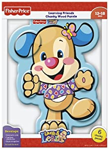 Longshore Fisher-Price Puppy Body Parts Learning Friends Chunky Wood Puzzle (Laugh and Learn), 6-Piece at Sears.com