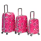 Rockland 3 Piece Vision Polycarbonate Abs Luggage Set