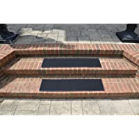 Dean Indoor/Outdoor Non Skid Carpet Stair Treads - Color: Ebony 36