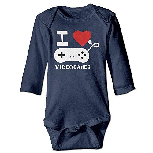i-love-video-games-logo-funny-navy-long-sleeves-baby-bodysuit-onesies