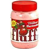 Fluff Marshmallow Fluff - Strawberry 212g, 1er Pack (1 x 212 g)