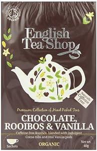 English Tea Shop Rooibos Chocolate Vanilla Organic 20 Sachet Tea Bags  (Pack of 3)