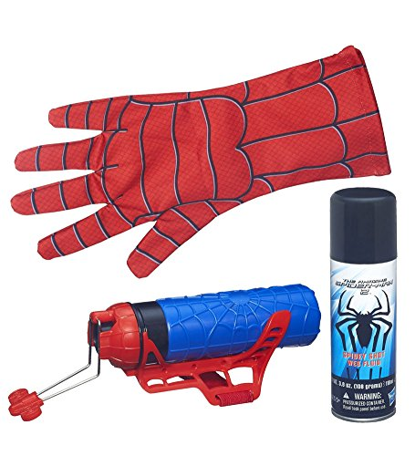 Mega Blaster Web Shooter with Gloves Marvel The Amazing Spider-Man 2