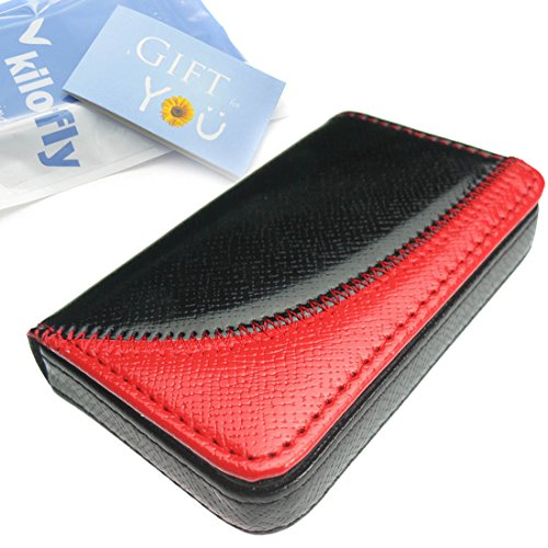 Kilofly Business Card Holder - Flip Style - Omar, With Kilofly Mini Gift-For-You Card