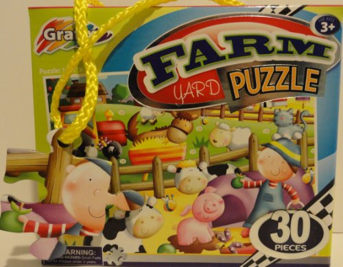 Grafix 30 Piece Farm Yard Puzzle