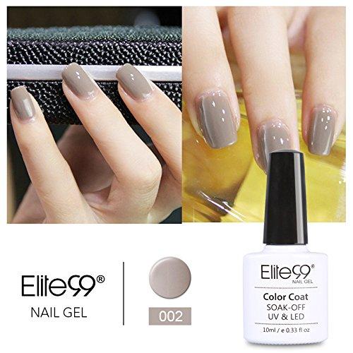 elite99-smalto-semipermanente-serie-elegante-grigio-colore-gel-ricostruzione-unghie-arte-con-lampada