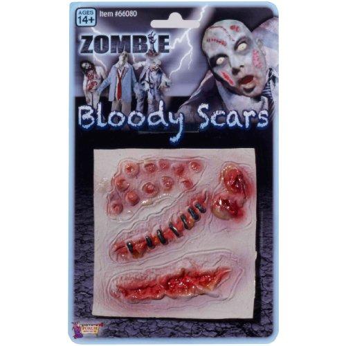 Spirit Zombie Bloody Multi Scars