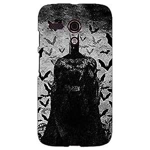 Jugaaduu Superheroes Batman Dark knight Back Cover Case For Moto G (1st Gen)
