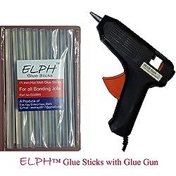 ELPH 11 mm Glue Stick 1 Piece + 60 Watt Hot Melt Glue Gun
