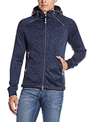Superdry Men's Polyester Sweatshirt (5054265849794_M20000PNF2_L_Rich Navy)