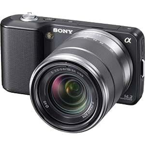 Sony NEX-3K Digital Camera 14.2MP w/18-55mm F3.5-5.6 Interchangeable Lens| Black