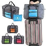 mark zenis 旅行バッグ ボストンバッグ 機内用 折りたたみ スーツケースの持ち手に通せる 予備バッグ オレンジ