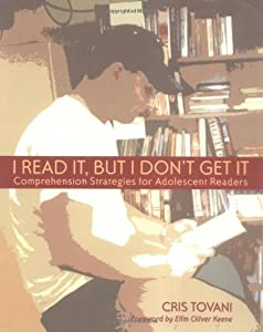 "Cover of ""I Read It, but I Don't Get It: ..."