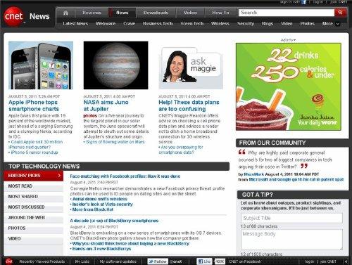 CNET News - Top 25 Articles