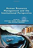 img - for Human Resource Management and the Institutional Perspective (Global HRM) book / textbook / text book