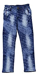 fourgee Boys Jeans (_ARY3023 copy, Blue, 5 - 6 Years)