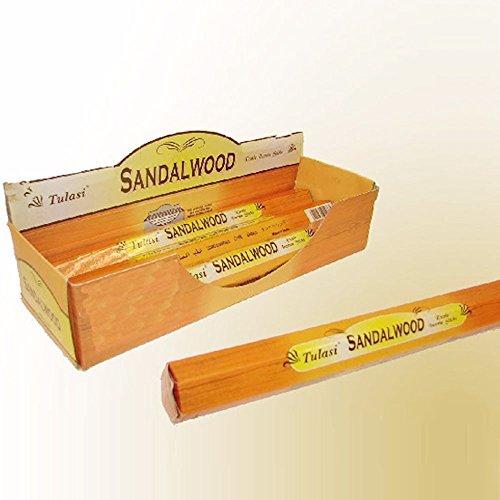 Incienso con aroma a sándalo (20 unidades)