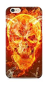 Amez designer printed 3d premium high quality back case cover for Apple iPhone 6s Plus (Skull taro prophecy faith fire circle)