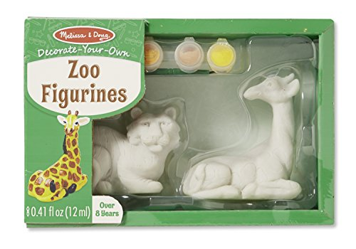 Melissa & Doug DYO Zoo Figurines