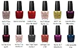 OPI Nail Polish Lacquer - Germany Complete Collection Set Of 12 - Includes - Berlin There Done That, Danke-Shiny Redt, Deutsch You Want Me Baby?, Don't Pretzel My Buttons, Don't Talk Bach to Me, Every Month is Oktoberfest, German-icure by OPI, My Very Fi
