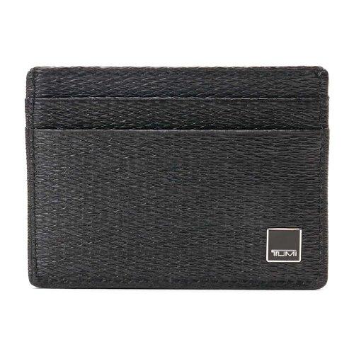 (トゥミ)TUMI 018260D Monaco Slim Card Case/スリム カードケース Black/ブラック [並行輸入品]