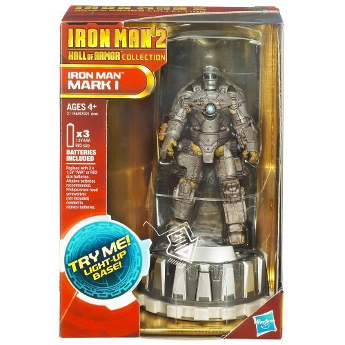 Iron Man 2 Hall of Armor Collection Figure - MARK I w/Base (Iron Man Mark 1 compare prices)