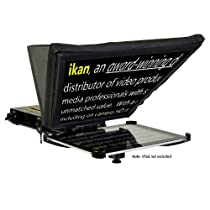 iKan Corporation Elite iPad Teleprompter Kit Black, (PT-Elite)