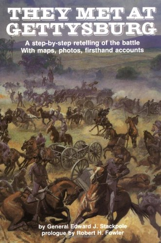 They Met at Gettysburg: a Step-by-step Retelling of the Battle with Maps, Photos, Firsthand Accounts