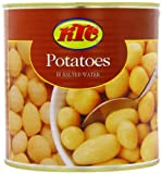 KTC New Peeled Potatoes 2.5 Kg (Pack of 6)