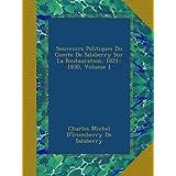 Souvenirs Politiques Du Comte De Salaberry Sur La Restauration, 1821-1830, Volume 1