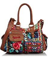 Desigual Handbags Bols C.O. Sac Puntilla Verde 30X5027