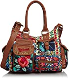 Desigual Bols London Yamileth, Women's Bag, Green (4043 Verde Nantes),...