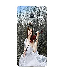 SAMSUNG GALAXY J3 PRO MUSIC GIRL Back Cover by PRINTSWAG